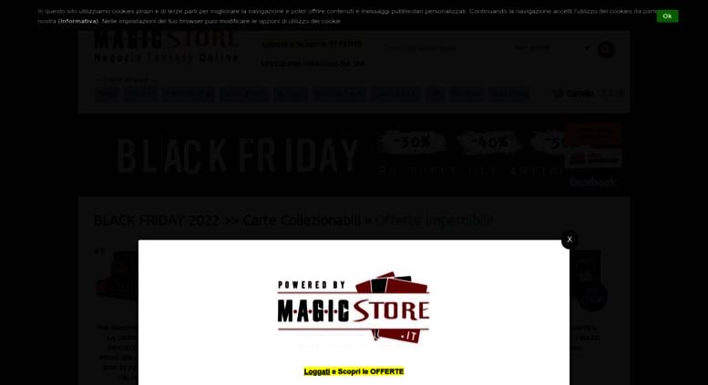 Access magicstore.it. Magic Store - Negozio Fantasy Online 481612aa3f57