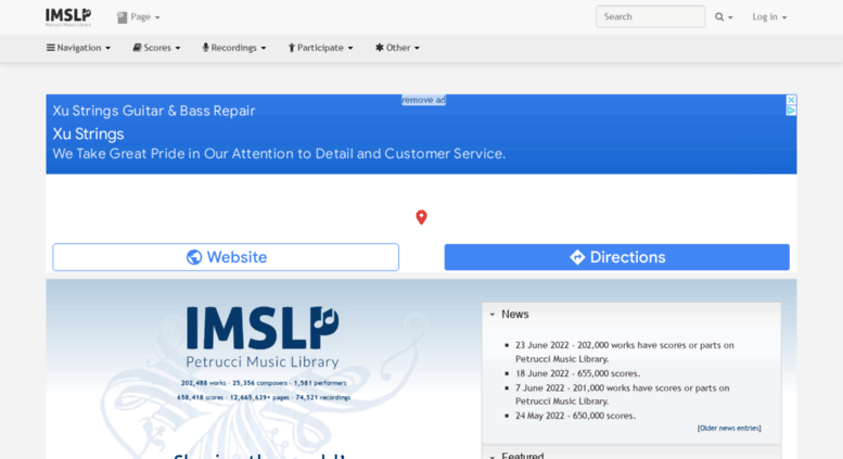 Access mail imslp org  IMSLP/Petrucci Music Library: Free Public