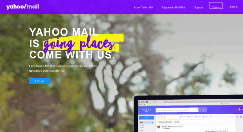 Access mail.yahoo.com.ph. Yahoo Mail