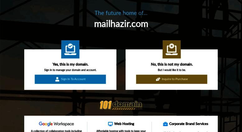Access mailhazir com  ✉ mailhazir com - Hemen Al, Kullan ve