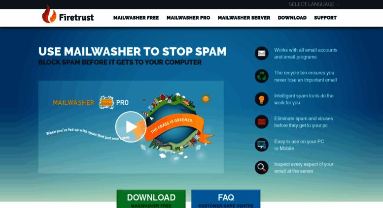 Access mailwasher net  MailWasher Free - The Popular Free Spam