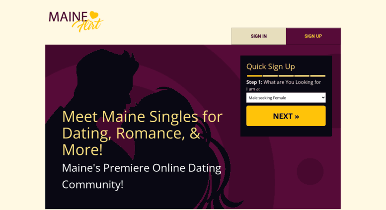 Maine dating singles