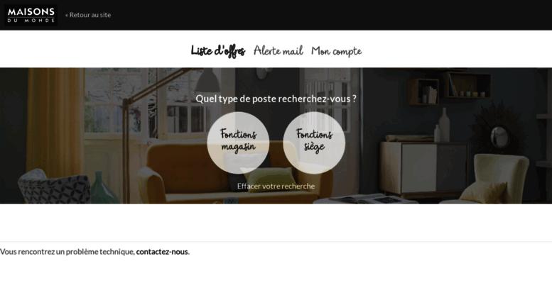 access maisons du monde. Black Bedroom Furniture Sets. Home Design Ideas
