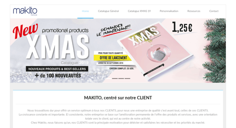 Access makitofrance fr  Makito France