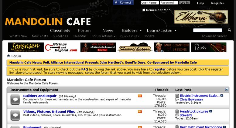 Access mandolincafe net  Mandolin Cafe Forum
