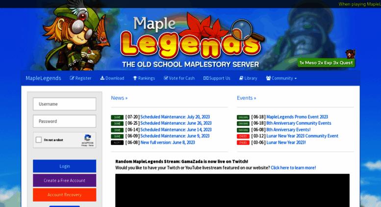 Maplelegends Christmas Event 2020 Access maplelegends.com. MapleLegends   Play Old School MapleStory