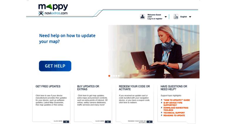 Access Mappynaviextrascom Naviextrascom Map Updates