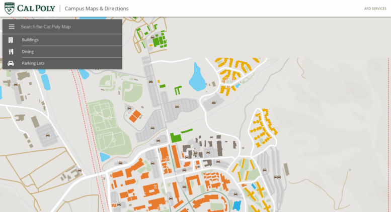 Campus Map Cal Poly on