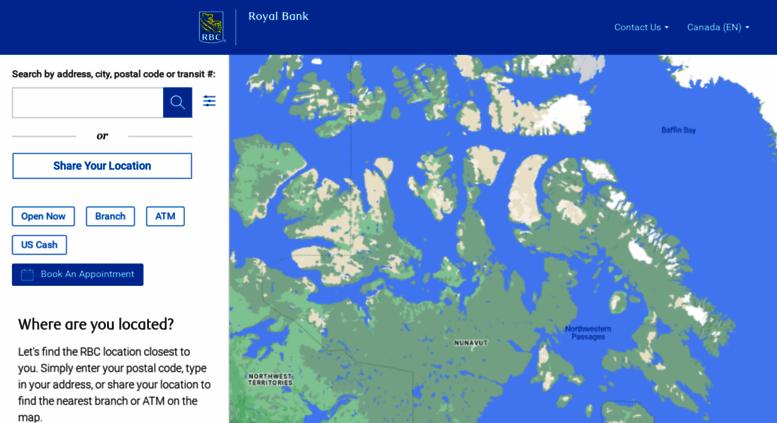 Access maps rbc com  Branch and ATM Locator - RBC Royal Bank