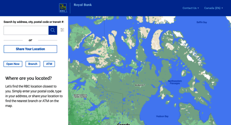 Access maps rbcroyalbank com  Branch and ATM Locator - RBC