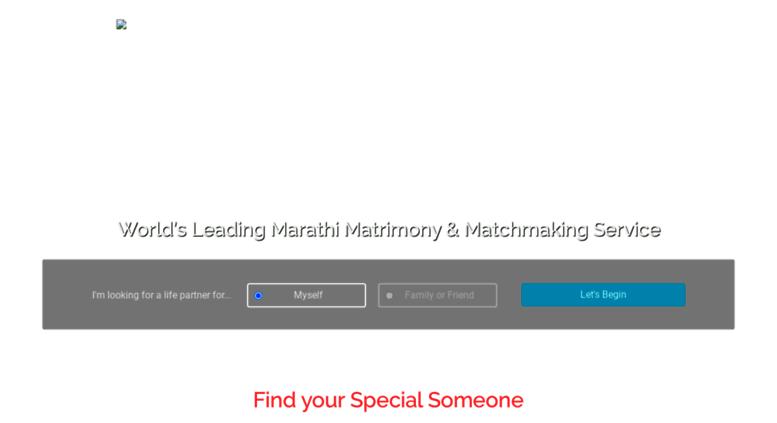 matchmaking Marathi