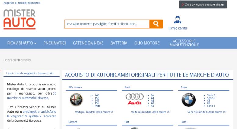 design senza tempo ea0f8 ff686 Access marche-auto.mister-auto.it. Ricambi auto Fiat, Alfa ...