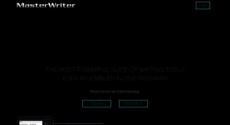 access masterwriter com masterwriter software for songwriting  masterwriter software for songwriting creative writing and poetry