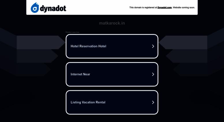 Access matkarock in  Satta King Satta King Gali Satta Black Satta