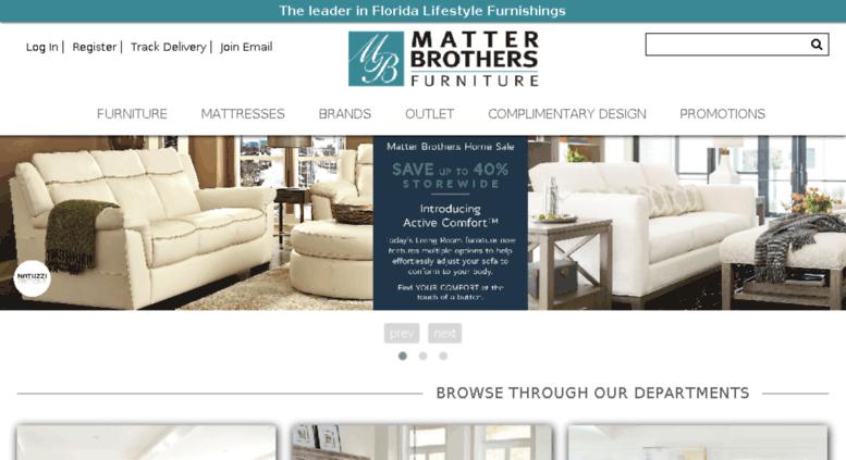 Access Matterbrothersfurniture Com Furniture Store Sarasota Naples