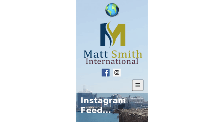 dc7afeccdf899 Access mattsmithinternational.com. Create Your Own Stunning Website ...