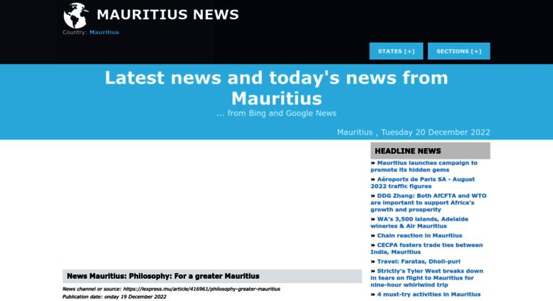 Dating sito Web Mauritius