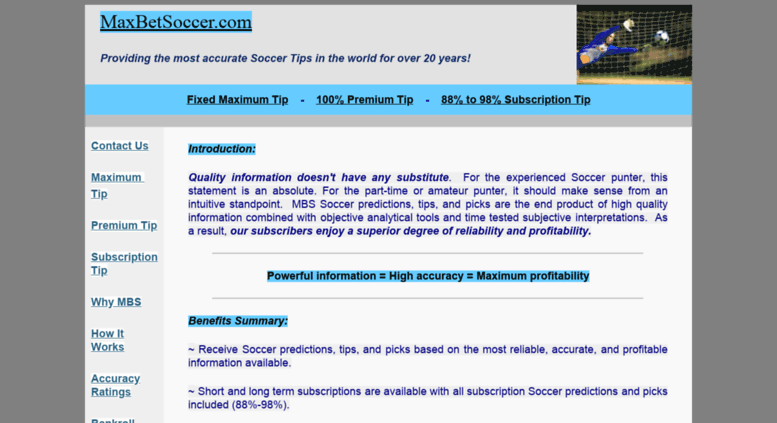 Access maxbetsoccer com  Maxbetsoccer - Soccer Predictions and Tips
