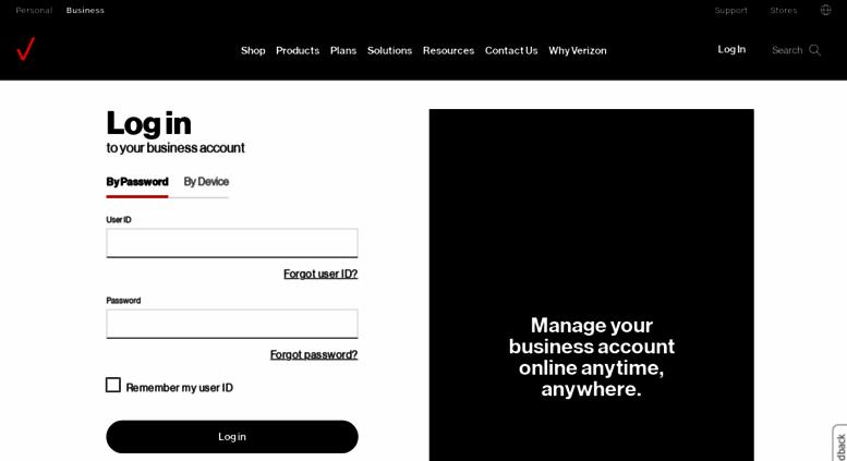 Access mblogin verizonwireless com  Verizon business account