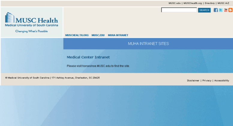 muha intranet Access mcintranet.musc.edu. Medical Center Intranet