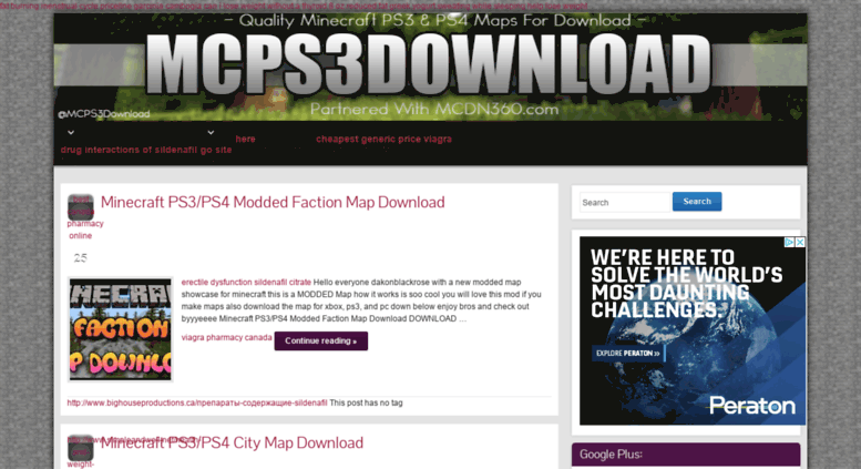 Access Mcps3downloadcom Minecraft Ps3ps4 Modded Faction