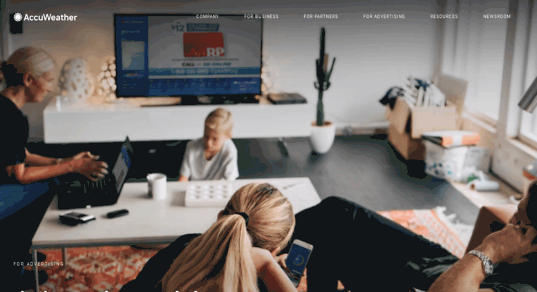 Access mediakit accuweather com  AccuWeather Advertising Ad