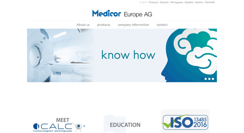 Access medicor-international com  Medicor International - home