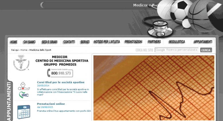 Access medicor it  Medicor Medicina dello sport - Napoli