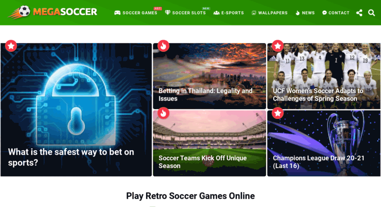 Access Megasoccercom Mega Soccer Games Play Sports Heads Free