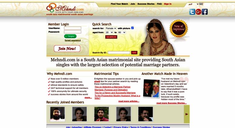 Asian matrimonial site amusing