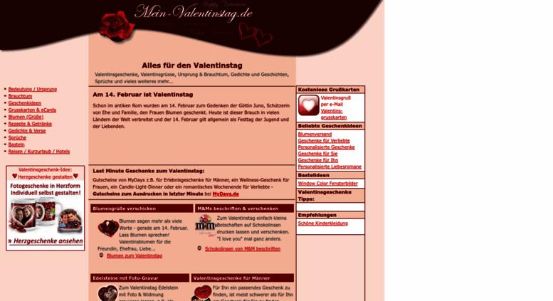 Access Mein Valentinstagde Alles Zum Valentinstag Ideen