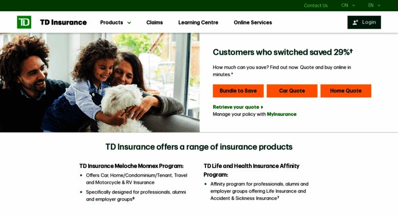 Access melochemonnex.com. Insurance Plans for Groups | TD ...