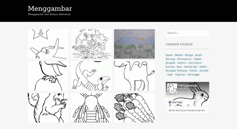 Access Menggambarcom Menggambar Dan Mewarnai Belajar Menggambar