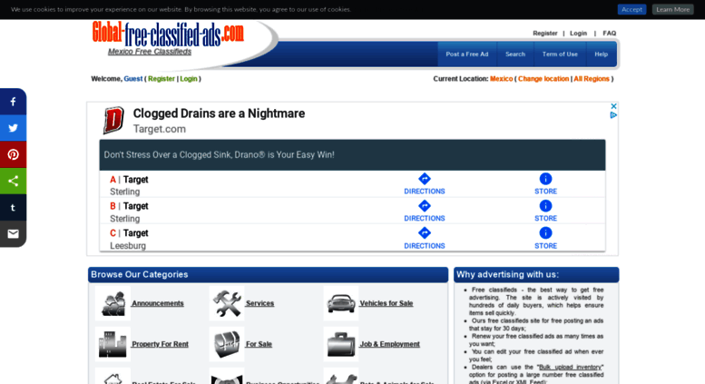 Access mexico global-free-classified-ads com  Free classifieds in