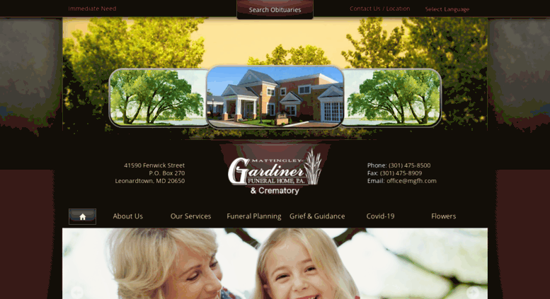 Access Mgfh Com Mattingley Gardiner Funeral Home P A And