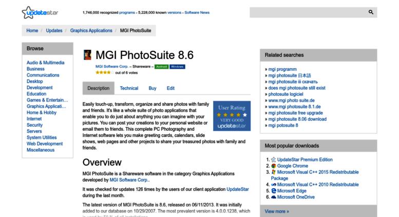 mgi photosuite 4 gratuit