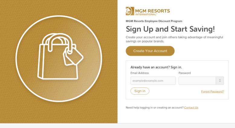 Access mgmresorts perkspot com  Login | MGM Resorts Employee