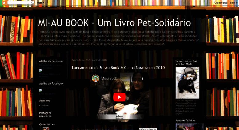 Access Mi Aubookblogspotcombr Mi Au Book Um Livro Pet