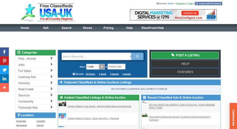 Access michigan-usa usauk-classifieds com  Free Classifieds