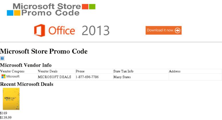 Access microsoftofficepromocode com  Microsoft Store Promo