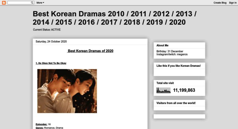 Access migeon blogspot com  Best Korean Dramas 2009 / 2010 / 2011