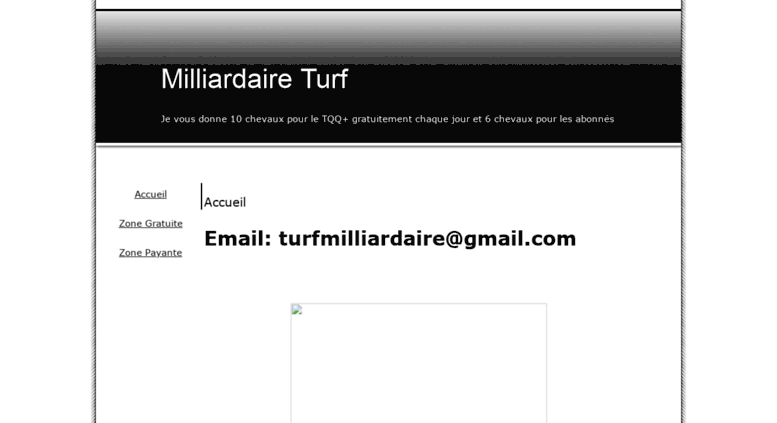 Access milliadaireturf onlc fr  Milliardaire Turf - Accueil