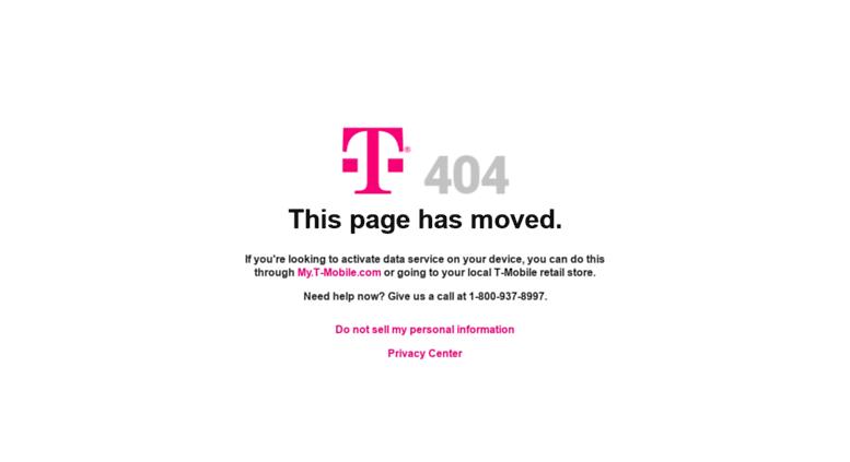 Access mim t-mobile com  T-Mobile