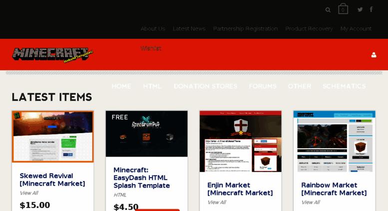 Access Minecraftwebsitetemplates Minecraft Website Templates