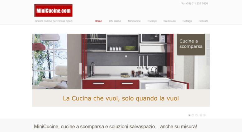 Access minicucine.com. MiniCucine, cucine a scomparsa ...