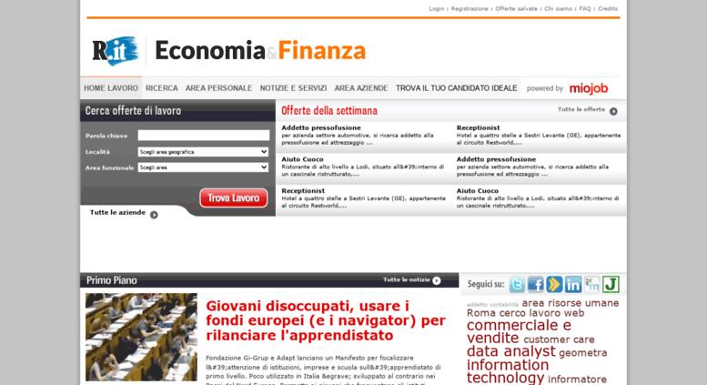 Access Miojob Repubblica It Cerco Lavoro Cerco Offerte