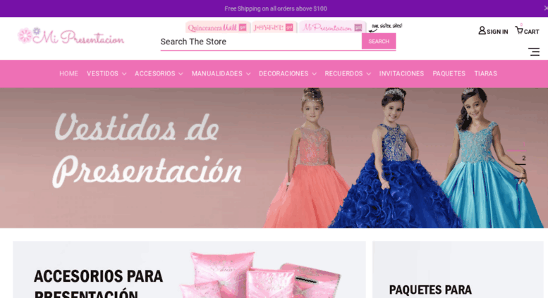 2e5cb1d2c Access mipresentacion.com. Mi Presentacion de 3 Anos - Vestidos de ...