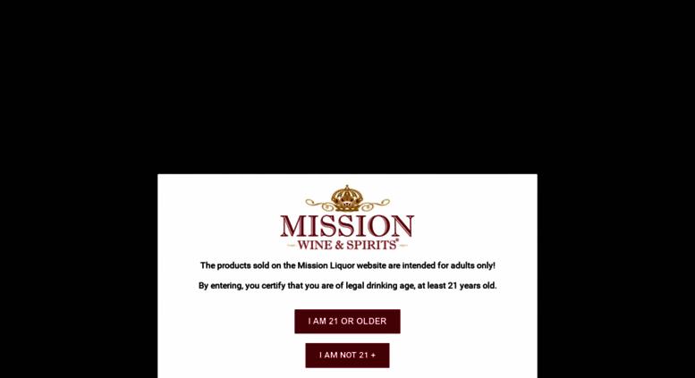 e898eee5689 Access missionliquor.com. Buy Liquor Online | Buy Wine Online | Buy ...