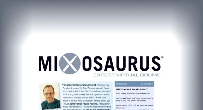 mixosaurus expert virtual drums