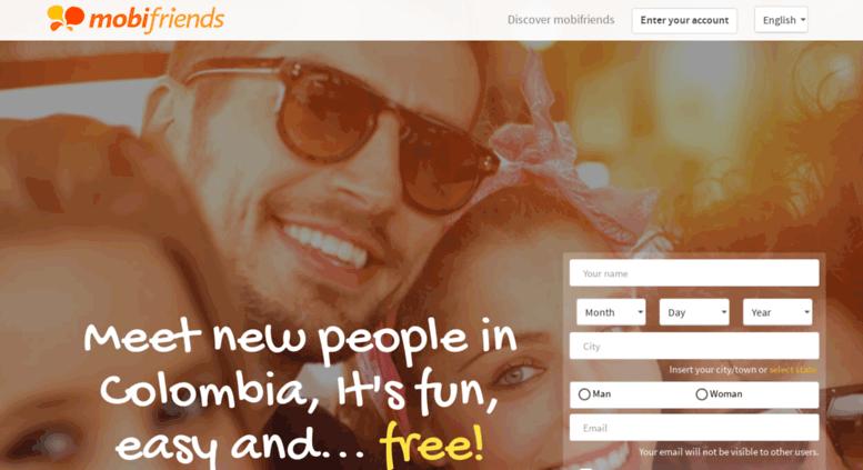 Gratis dating websites Colombia